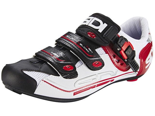 Sidi Genius 7 Shoes Men White/Black/Red